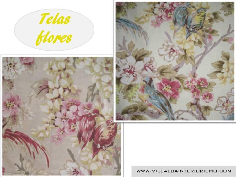 Telas flores - Villalba Interiorismo (5)
