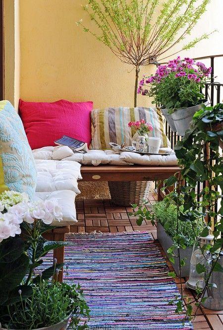 Decoración balcón - Villalba Interiorismo (7)