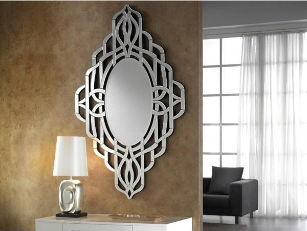 Espejos de cristal decorativos villalba interiorismo for Espejos pequenos decorativos