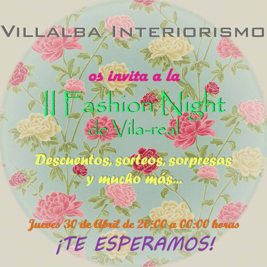 Fashion Night  - Villalba Interiorismo
