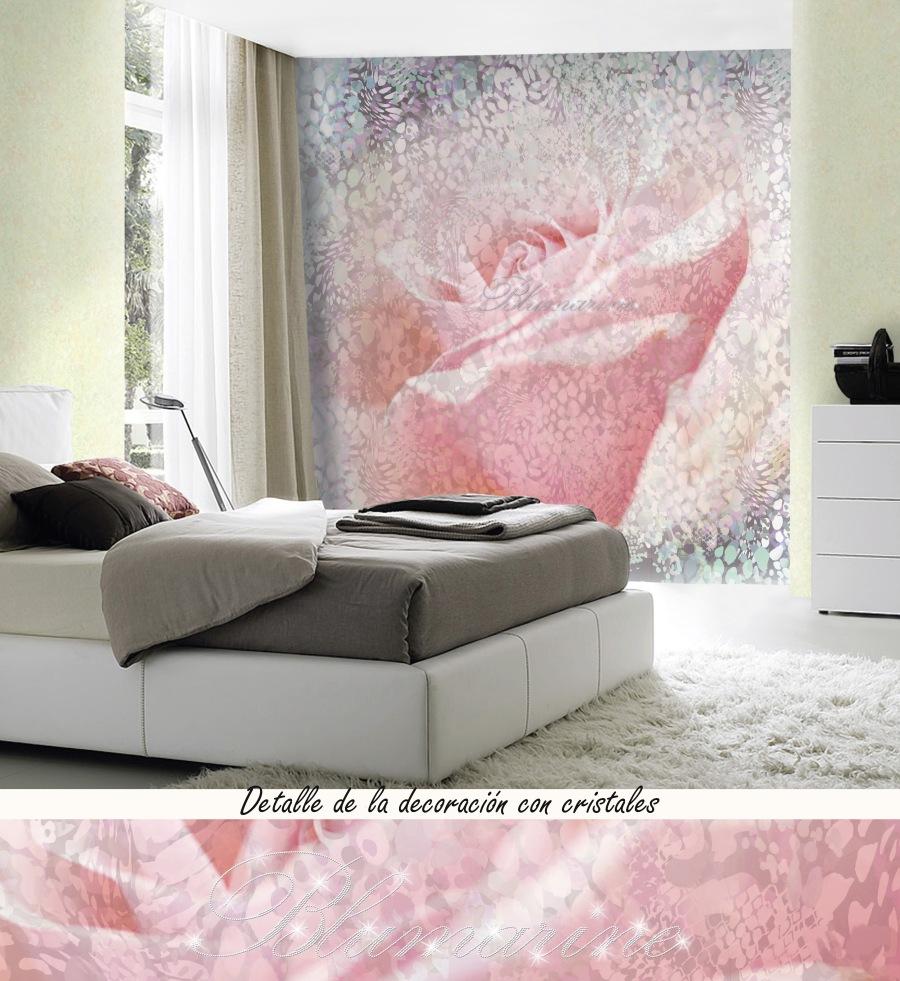 Mural con cristales Luxury Blumarine (2)- Villalba Interiorismo