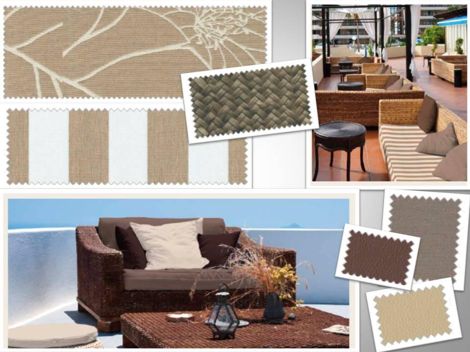 Para el exterior textiles outdoor villalba interiorismo - Villalba interiorismo ...