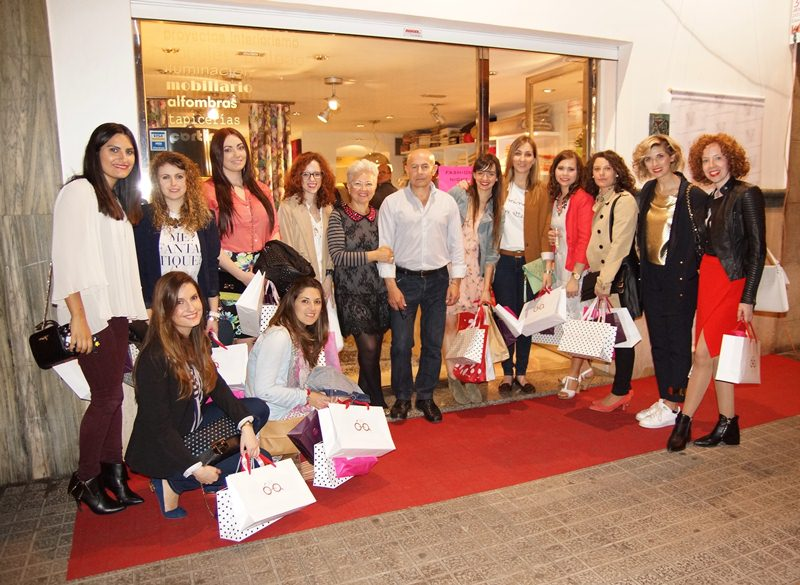 Bloggers en Fashion Night Vila-real - Villalba Interiorismo