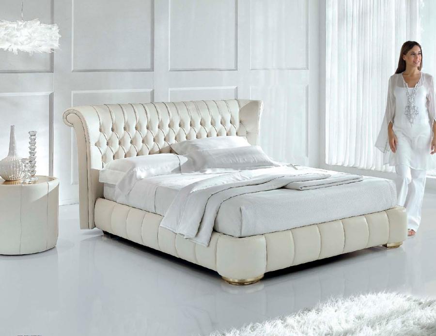 El capiton tapizado de moda villalba interiorismo - Cabeceros de cama capitone ...