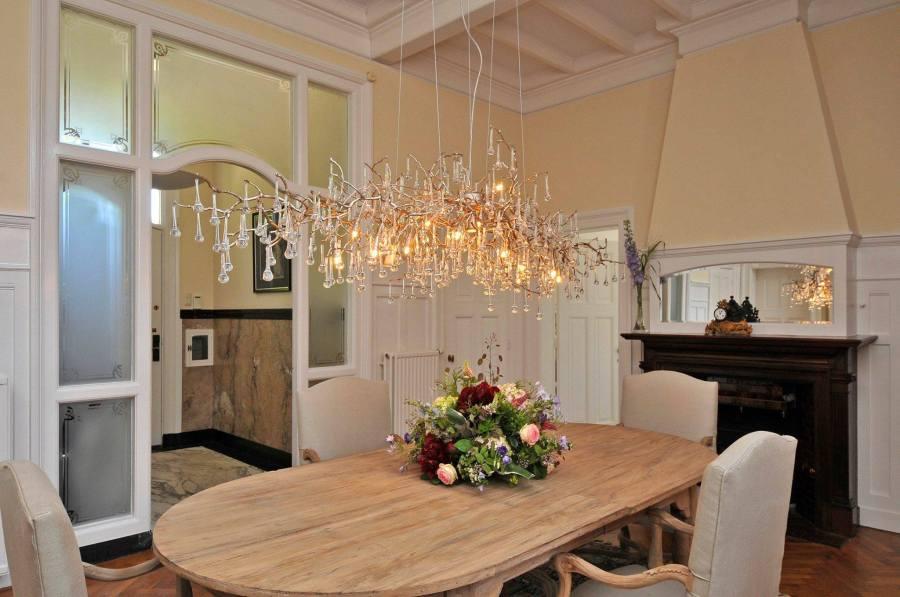 Lámpara en bronce y cristales de Serip - Villalba Interiorismo (2)
