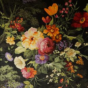 Tapicería terciopelo flores - Villalba Interiorismo (2)