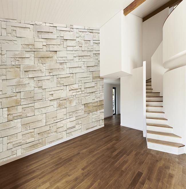 Papel mural piedra - Villalba Interiorismo (2)