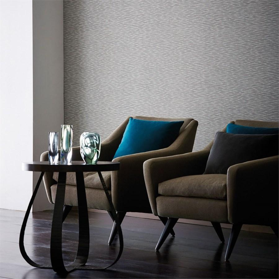 Papel pintado con textura - Villalba Interiorismo (2)