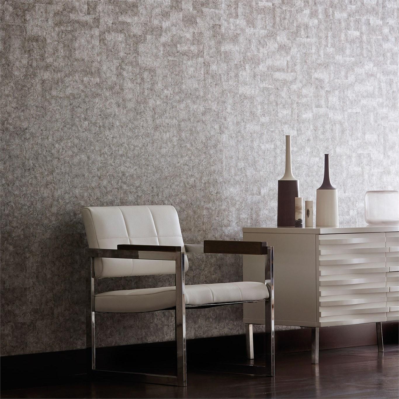 Papeles pintados con textura villalba interiorismo - Papeles pintados modernos ...