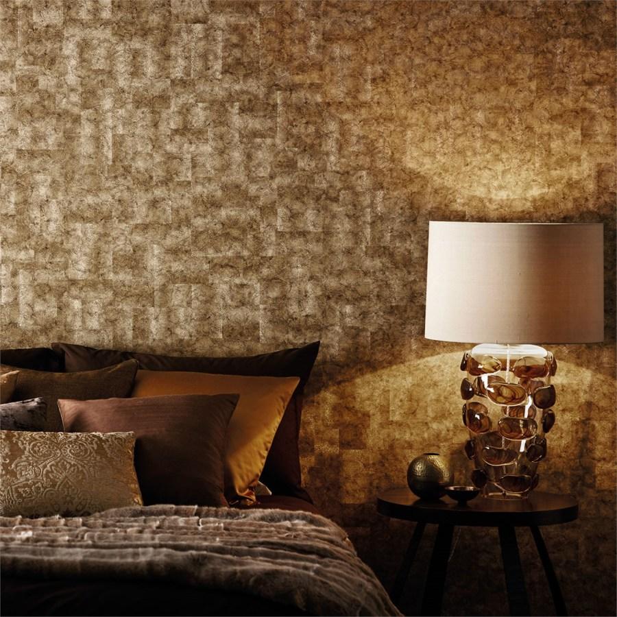 Papel pintado con textura - Villalba Interiorismo (5)