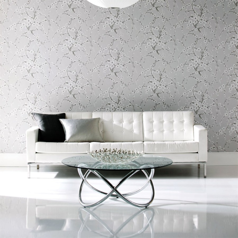 Papel pintado flores Harlequin - Villalba Interiorismo