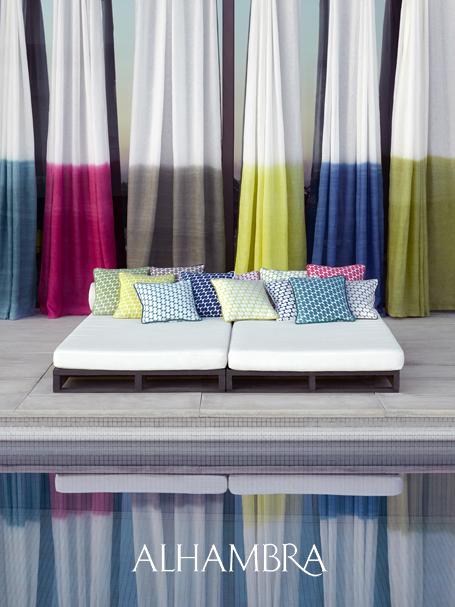 Visillos lino colores verano - Villalba Interiorismo (2)