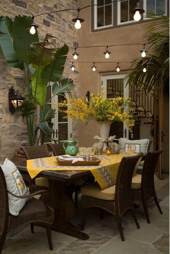 comedor exterior - Villalba Interiorismo