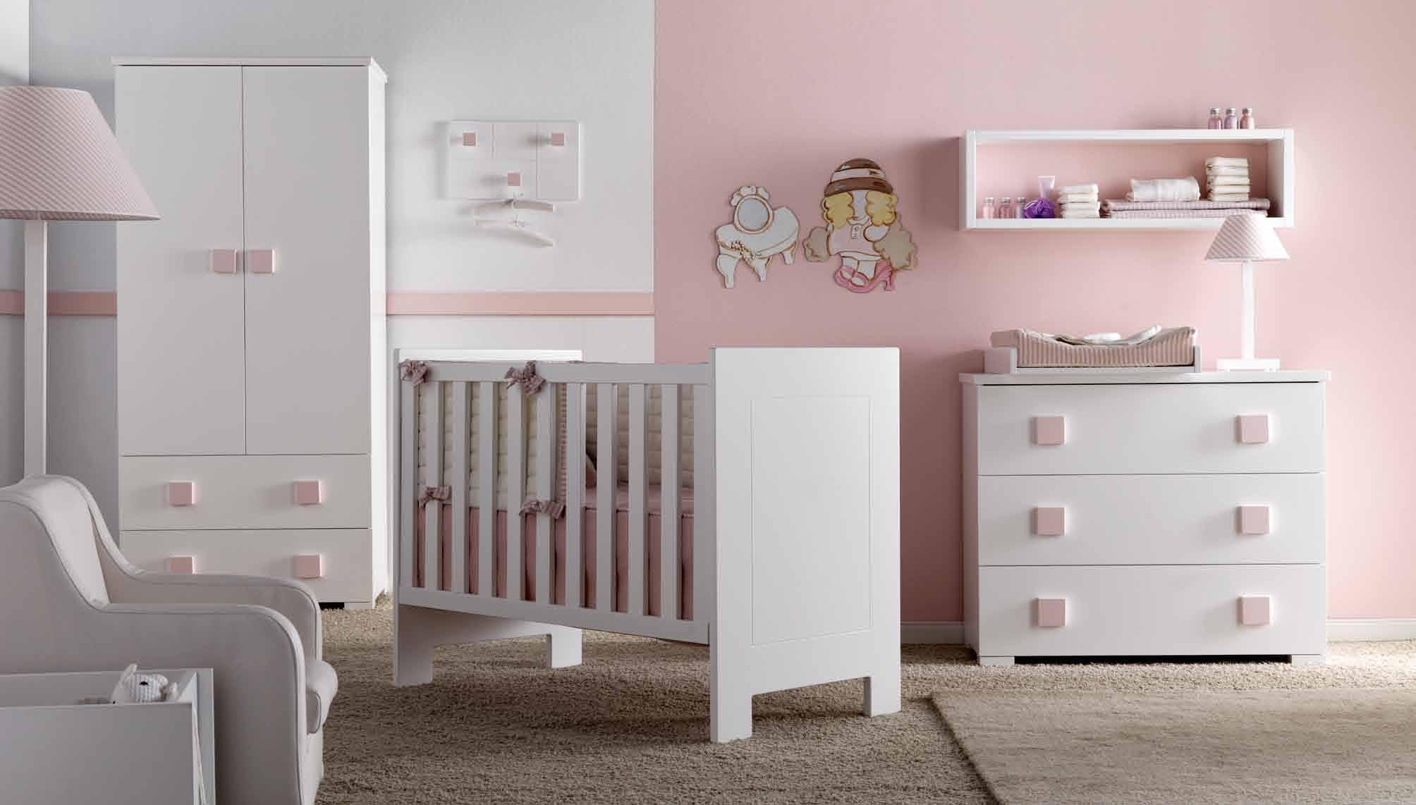 Dulces dormitorios de beb villalba interiorismo - Dormitorio para ninas ...