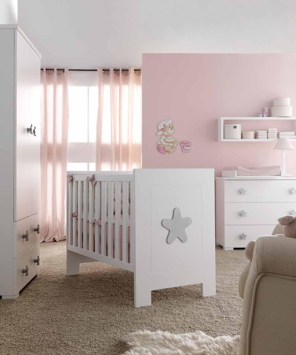 Dulces dormitorios de beb villalba interiorismo - Muebles para habitacion de bebe ...