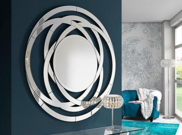 Decorativos espejos redondos villalba interiorismo Espejos decorativos salon