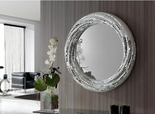 Decorativos espejos redondos villalba interiorismo for Espejos decorativos salon