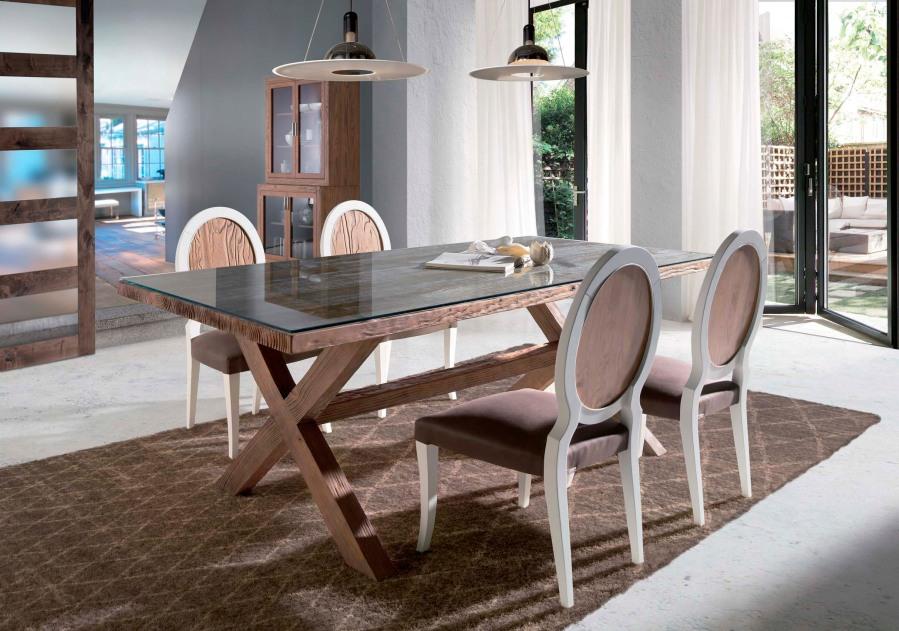 Mesa comedor madera de mobila - Villalba Interiorismo (2)