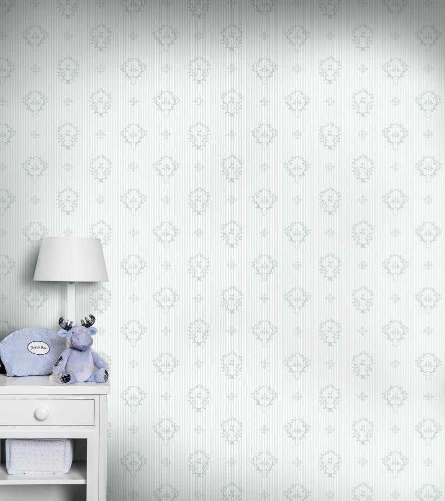 Papel pintado dormitorio bebé - Villalba Interiorismo (2)