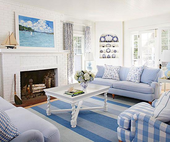 Salón azul pastel - Villalba Interiorismo (4)
