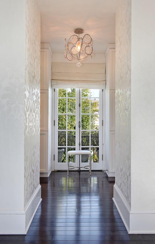 Lámpara techo bronce y cristal Serip - Villalba Interiorismo