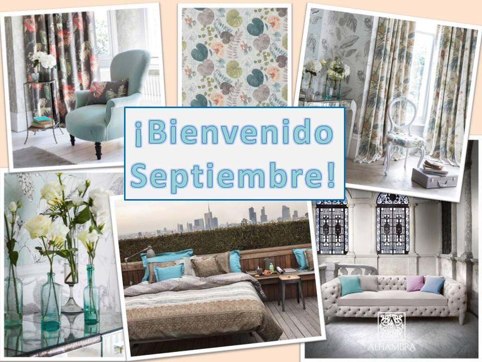 Empieza septiembre con optimismo villalba interiorismo - Villalba interiorismo ...