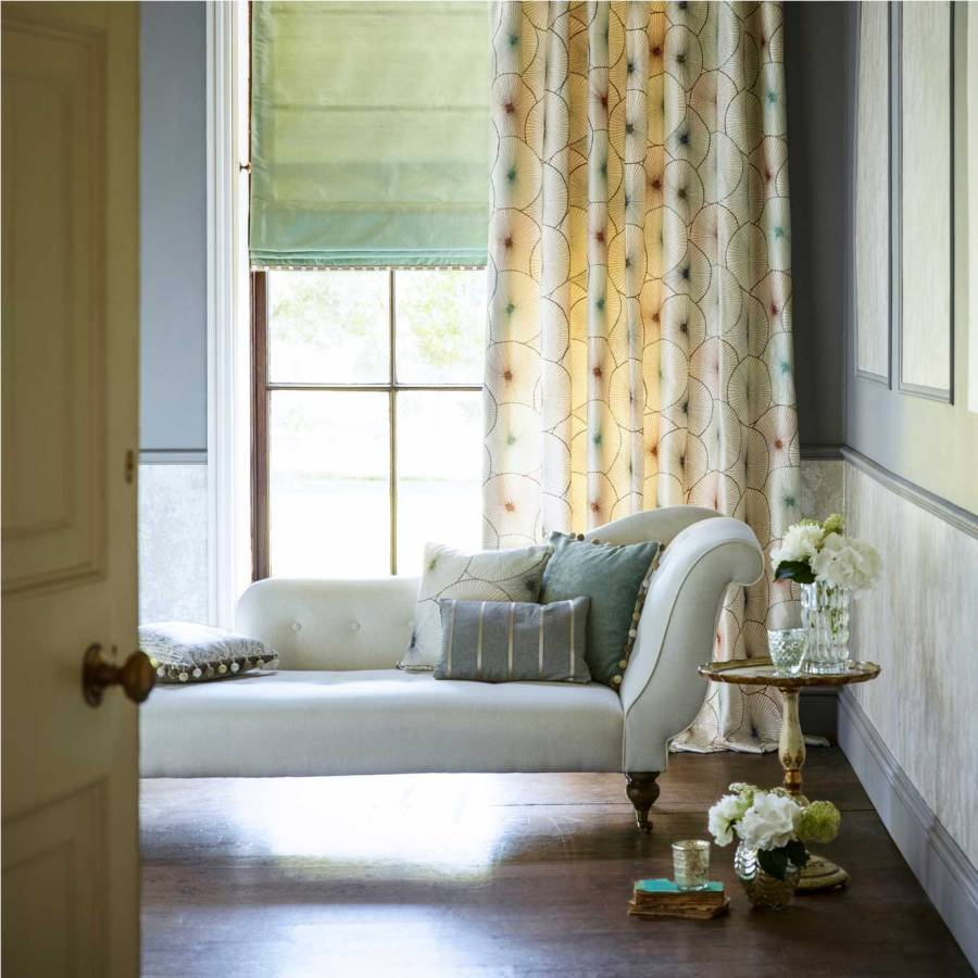 Dobles cortinas - Villalba Interiorismo
