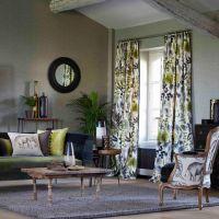 Tendencias, un salón en gris y verde