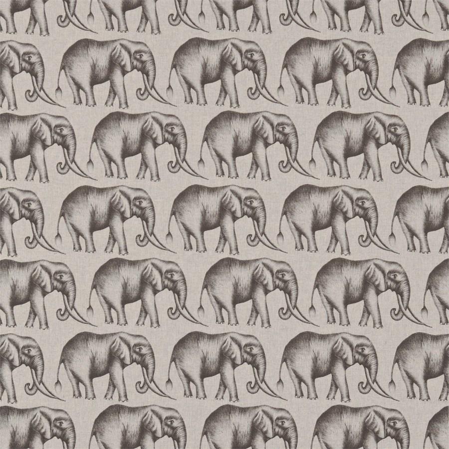 Tela elefantes Harlequin - Villalba Interiorismo