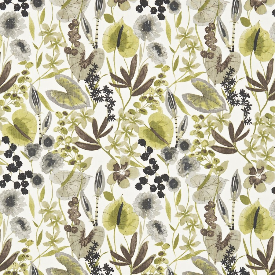 Tela flores Harlequin - Villalba Interiorismo