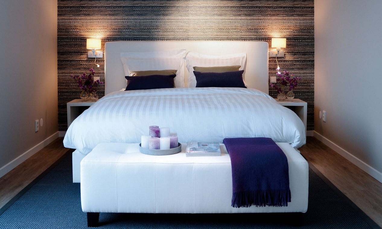 C lidos papeles pintados en el dormitorio villalba for Papel para pared dormitorio