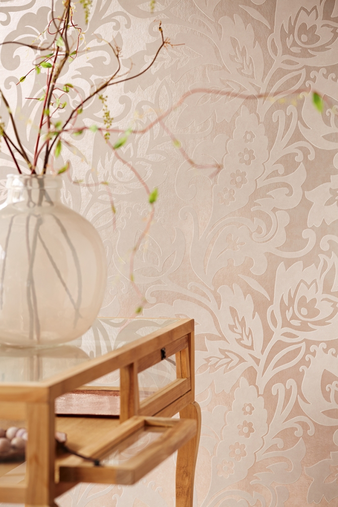 Papel pintado con brillo5 - Villalba Interiorimso