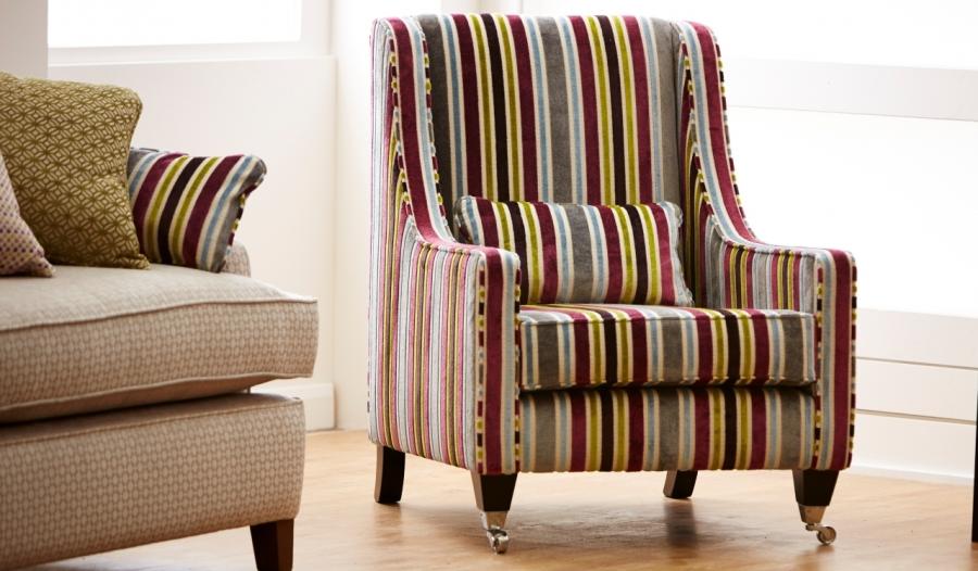 Sillón tapizado - Villalba Interiorismo