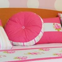 Combinando telas para un dormitorio juvenil