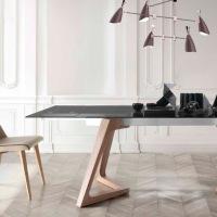 5 Mesas modernas de cristal y madera