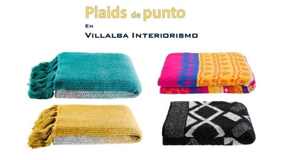 Plaids de punto Kas1 - Villalba Interiorismo