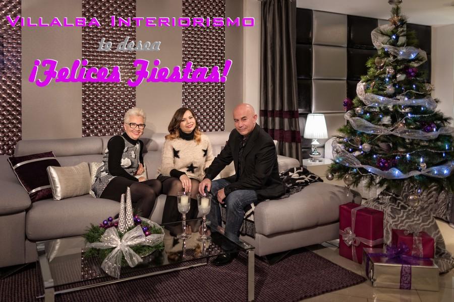 Felices fiestas 2015 - Villalba Interiorismo