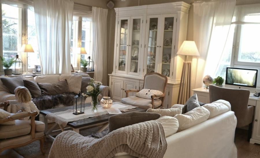Salón cálido y acogedor - Villalba Interiorismo