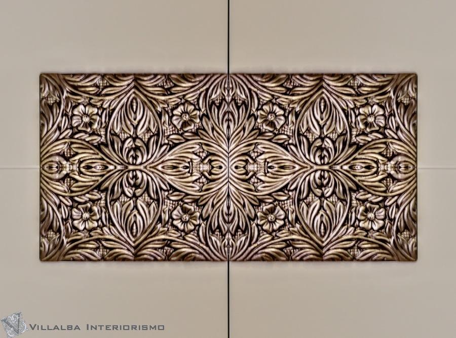 Talla plata champange - Villalba Interiorismo