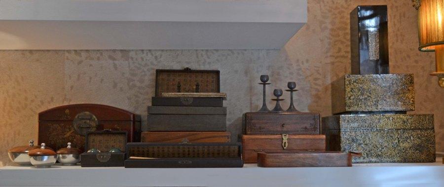 Cajas de madera vintage - Villalba Interiorismo