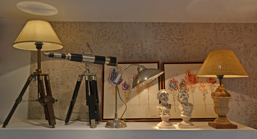 Lámparas y decoración vintage - Villalba Interiorismo