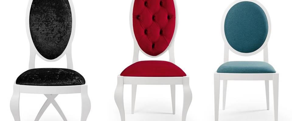 3 sillas tapizadas c modas y muy elegantes villalba interiorismo - Sillas provenzal tapizadas ...