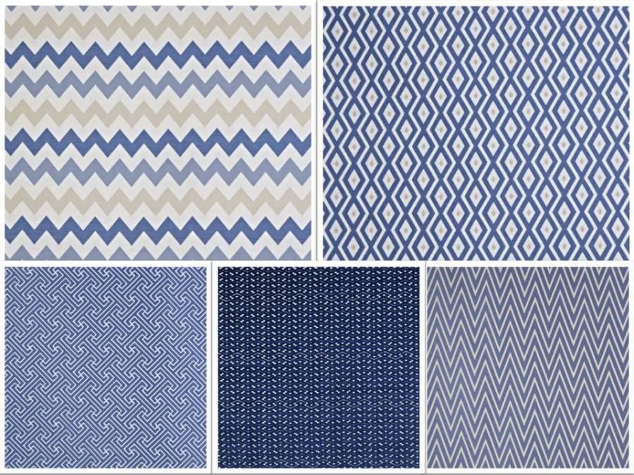 Telas con dibujos geométricos - Villalba Interiorismo (2)