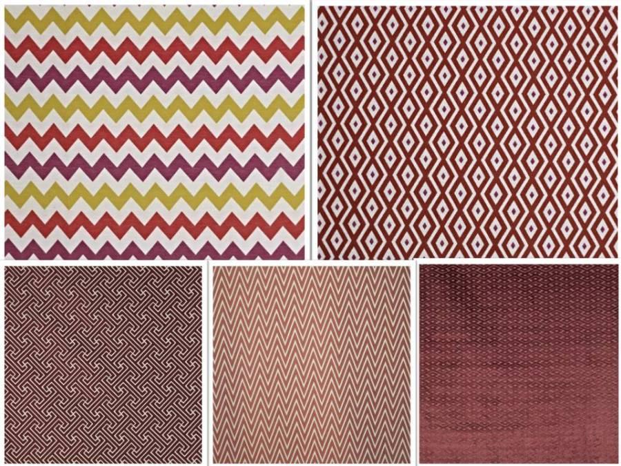 Telas con dibujos geométricos - Villalba Interiorismo (3)