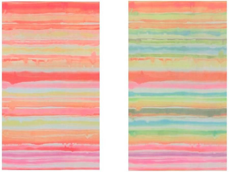Visillos cortinas de colores - Villalba Interiorismo