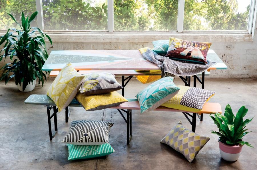 Cojines para cama o sofá - Villalba Interiorismo