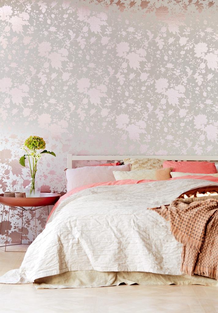 C mo elegir el papel pintado para el dormitorio villalba - Papel pintado para salon ...