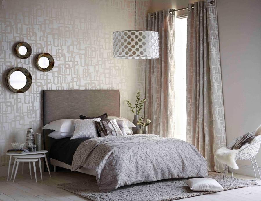 C mo elegir el papel pintado para el dormitorio villalba - Papel pared moderno ...
