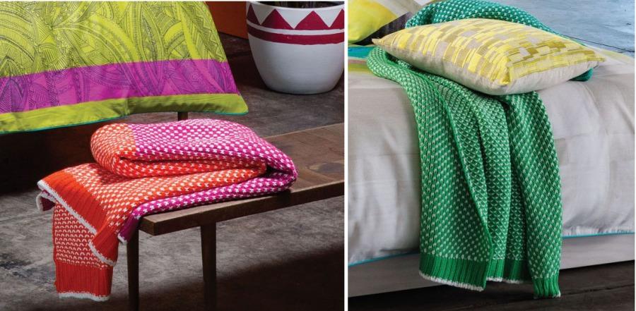 Plaids para cama o sofá - Villalba Interiorismo