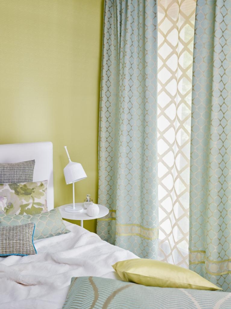 Dobles cortinas en dormitorio - Villalba Interiorismo